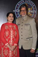 Sunmeet Kaur, Amitabh Bachchan wins 5 crores on the sets of Kaun Banega Crorepati in Mumbai on 5th Jan 2013 (55).JPG