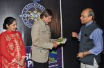 Sunmeet Kaur, Amitabh Bachchan wins 5 crores on the sets of Kaun Banega Crorepati in Mumbai on 5th Jan 2013 (57).JPG
