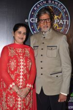 Sunmeet Kaur, Amitabh Bachchan wins 5 crores on the sets of Kaun Banega Crorepati in Mumbai on 5th Jan 2013 (53).JPG