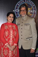 Sunmeet Kaur, Amitabh Bachchan wins 5 crores on the sets of Kaun Banega Crorepati in Mumbai on 5th Jan 2013 (54).JPG