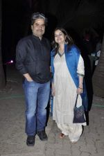 Vishal Bharadwaj, Rekha Bharadwaj at Rewa Rathod launch in Mumbai on 5th Jan 2013 (55).JPG