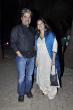 Vishal Bharadwaj, Rekha Bharadwaj at Rewa Rathod launch in Mumbai on 5th Jan 2013 (56).JPG
