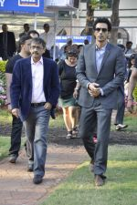 Arjun Rampal at Mid-day race in RWITC, Mumbai on 6th Jan 2013 (14).JPG