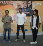 Dharmesh, Prabhudeva and Prince promoting their movie Any Body Can Dance at the Times Big Reward Award Ceremony held at Korum Mall.jpg