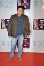 Sajid Khan at Zee Awards red carpet in Mumbai on 6th Jan 2013 (155).JPG