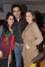 Aamir Ali, Sanjeeda Sheikh at Dabboo Ratnani Calendar launch in Olive, Bandra, Mumbai on 8th Jan 2013 (148).JPG