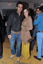 Aamir Ali, Sanjeeda Sheikh at Dabboo Ratnani Calendar launch in Olive, Bandra, Mumbai on 8th Jan 2013 (149).JPG