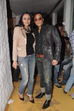 Gauri Tonk, Yash Tonk at Dabboo Ratnani Calendar launch in Olive, Bandra, Mumbai on 8th Jan 2013 (154).JPG