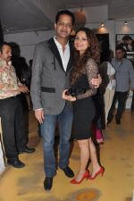Rahul Mahajan, Dimpy Ganguly at Dabboo Ratnani Calendar launch in Olive, Bandra, Mumbai on 8th Jan 2013 (18).JPG