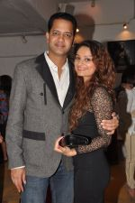 Rahul Mahajan, Dimpy Ganguly at Dabboo Ratnani Calendar launch in Olive, Bandra, Mumbai on 8th Jan 2013 (19).JPG
