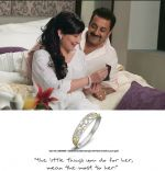 Sanjay Dutt and Manyata Dutt in Sangini Ad.jpg