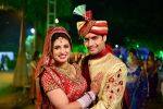 Vivian Dsena and Vahbbiz Dorabjee at Vivian Dsena and Vahbbiz Dorabjee Marriage in Mumbai on 8th Jan 2013 (21).jpg
