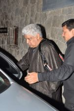 Javed Akhtar at Farhan Akhtar_s birthday bash in Mumbai on 9th Jan 2013 (23).JPG