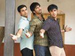 Raj Kumar Yadav, Sushant Singh Rajput and Amit Sadh in Koi Po Che.jpg