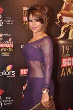 Laila Khan at Screen Awards red carpet in Mumbai on 12th Jan 2013 (276).JPG