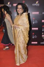 Maushmi Chatterjee at Screen Awards red carpet in Mumbai on 12th Jan 2013 (130).JPG