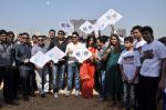 Aslam Sheikh, Raja Bherwani, Gihani Khan, Ankush Bhatt at kite flying competition hosted by MLA Aslam Sheikh in Malad, Mumbai on 14th Jan 2013 (44).JPG