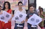 Raja Bherwani, Gihani Khan, Ankush Bhatt at kite flying competition hosted by MLA Aslam Sheikh in Malad, Mumbai on 14th Jan 2013 (28).JPG