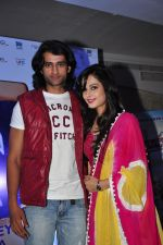 Rajan Chhabra & disha at Curtain raiser of Saare Jahaan Se Mehnga .JPG