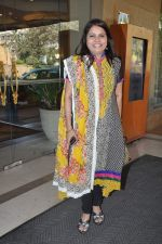 Sadhana Sargam at Radio Mirchi music awards jury meet in J W Marriott, Mumbai on 15th Jan 2013 (11).JPG