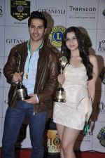 Alia Bhatt, Varun Dhawan at Lions Gold Awards in Mumbai on 16th Jan 2013 (85).JPG