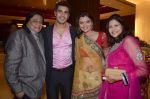 Deepshikha, Kaishav Arora, Kanchan Adhikari at Ravi Adhikari and Rubaina_s sangeet ceremony in Novotel, Mumbai on 16th Jan 2013 (75).JPG