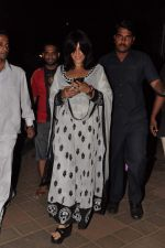 Ekta Kapoor seek blessings at Siddhivinayak at 4.30 am in Mumbai on 15th Jan 2013 (24).JPG