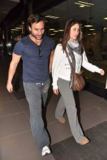 Saif Ali Khan, Kareena Kapoor snapped at airport in Mumbai on 17th Jan 2013 (8).JPG