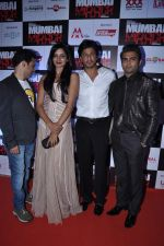 Shahrukh Khan, Sachiin Joshi, Vimala Raman at Mumbai Mirror premiere in PVR, Mumbai on 17th Jan 2013 (80).JPG
