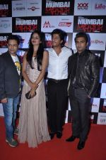 Shahrukh Khan, Sachiin Joshi, Vimala Raman at Mumbai Mirror premiere in PVR, Mumbai on 17th Jan 2013 (81).JPG