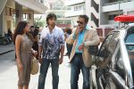 Tripta Parashar , Akash and Mukesh Tiwari in the still from movie Bloody Isshq.jpg