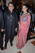 Disha Vakani, Dilip Joshi at Ravi and Rubaina_s wedding reception in Taj Land_s End, Mumbai on 18th Jan 2013 (47).JPG