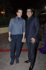 Jeetendra at Ravi and Rubaina_s wedding reception in Taj Land_s End, Mumbai on 18th Jan 2013 (23).JPG