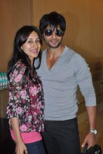 Karanvir Bohra, Teejay Sidhu at the press conference of Life OK_s new reality show Welcome in Mumbai on 18th Jan 2013 (209).JPG
