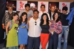 Ram Kapoor, Debina Choudhary, Aishwarya Sakhuja, Rucha Gujarati, Aman Verma, Ragini Khanna, Manoj at the press conference of Life OK_s new reality show Welcome in Mumbai on 18th Jan 201 (205).JPG