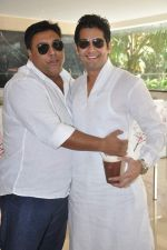 Ram Kapoor, Amar Upadhyay at the press conference of Life OK_s new reality show Welcome in Mumbai on 18th Jan 2013 (135).JPG