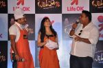 Ram Kapoor, Ragini Khanna, Manoj Tiwari at the press conference of Life OK_s new reality show Welcome in Mumbai on 18th Jan 2013 (191).JPG