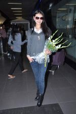 Miss World 2012 Yu Wenxia at Mumbai Airport on 19th Jan 2013 (14).JPG