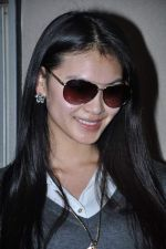 Miss World 2012 Yu Wenxia at Mumbai Airport on 19th Jan 2013 (20).JPG