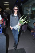 Miss World 2012 Yu Wenxia at Mumbai Airport on 19th Jan 2013 (9).JPG