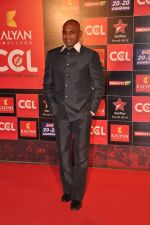Sanath Jayasuriya at CCL red carpet in Mumbai on 19th Jan 2013 (16).JPG