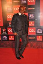 Sanath Jayasuriya at CCL red carpet in Mumbai on 19th Jan 2013 (18).JPG
