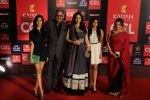 Sridevi, Boney Kapoor, Jhanvi Kapoor, Khushi Kapoor at CCL red carpet in Mumbai on 19th Jan 2013 (158).JPG