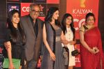 Sridevi, Boney Kapoor, Jhanvi Kapoor, Khushi Kapoor at CCL red carpet in Mumbai on 19th Jan 2013 (46).JPG