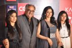 Sridevi, Boney Kapoor, Jhanvi Kapoor, Khushi Kapoor at CCL red carpet in Mumbai on 19th Jan 2013 (48).JPG