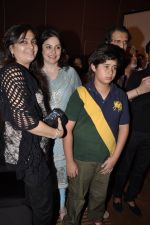Anjali Tendulkar with son at Mai Music launch in Grand Haytt, Mumbai on 22nd Jan 2013 (38).JPG