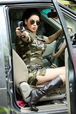 Poonam Jhawar in an Army Officer attire (4).JPG