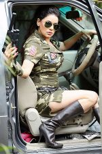 Poonam Jhawar in an Army Officer attire (5).JPG