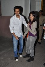 Ritesh Deshmukh, Genelia D Souza watches Balak Palak with Riteish & Genelia in Ketnav, Mumbai on 23rd Jan 2013 (6).JPG