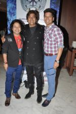 Aadesh Shrivastav, Shaan, Kailash Kher at Global Sound of Peace press conference in Mumbai on 24th Jan 2013 (1).JPG